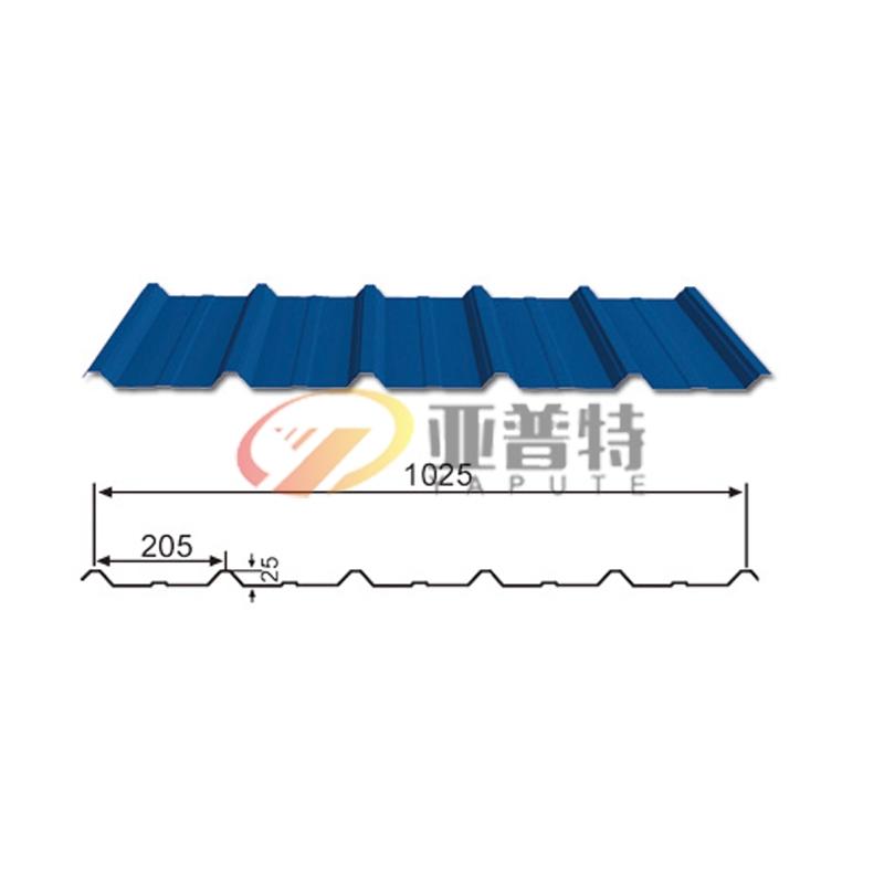 墙面板YX25-205-1025彩钢板