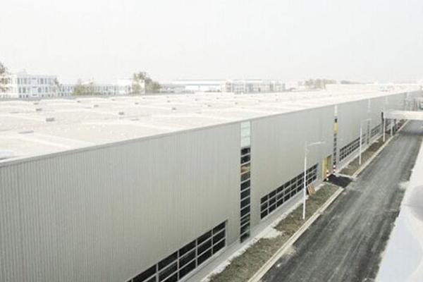 金属屋面板工程案例——无锡威孚产业园