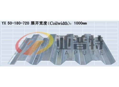 YX50-180-720开口楼承板