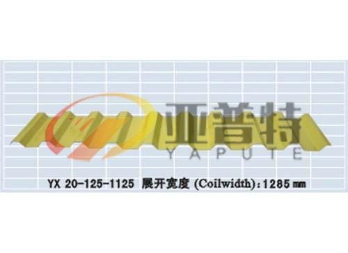 YX 20-125-1125压型钢板