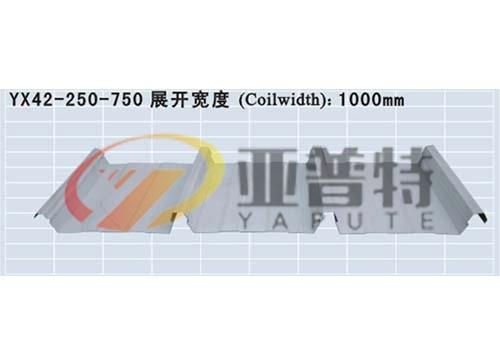 YX42-250-750彩钢板