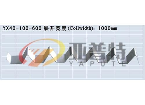 YX40-100-600彩钢板