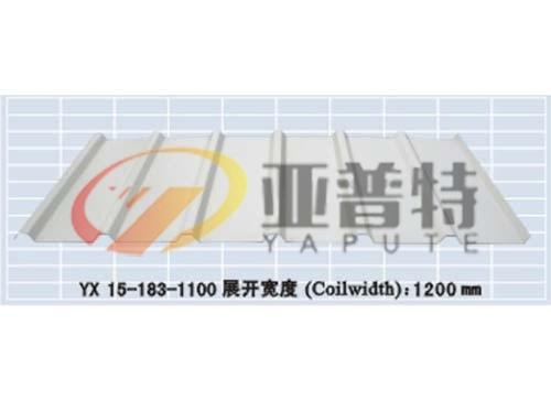 YX 15-183-1100彩钢板